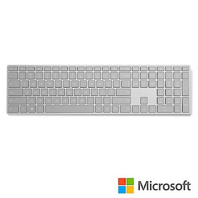 微軟 具有指紋辨識功能的時尚鍵盤
