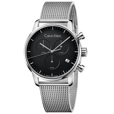 Calvin Klein CK簡約美式米蘭帶腕錶(K2G27121)43mm