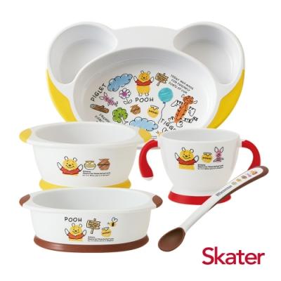 Skater幼童餐具套組 (維尼)