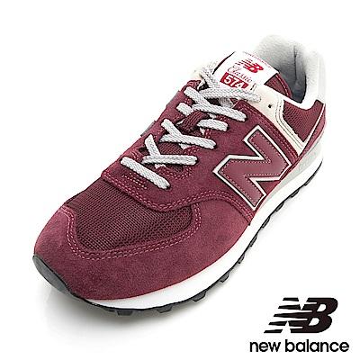 New Balance 574復古鞋 男鞋 酒紅 ML574EGB