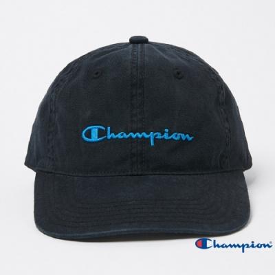 Champion草寫Logo棒球帽 黑色