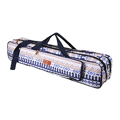 NOMADE 加厚雙層牛津布營柱收納袋 營柱袋 裝備袋 工具袋箱(馬德里藍)