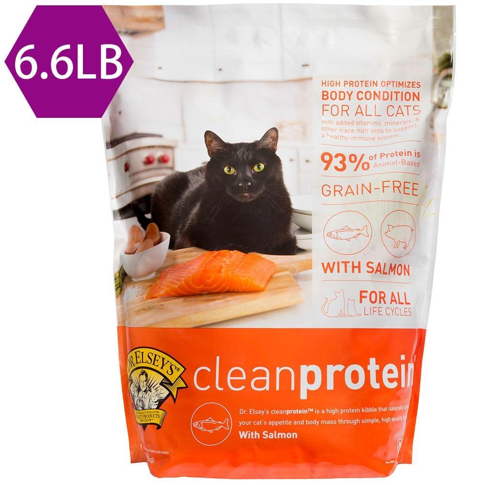 DR.ELSEY'S布魯斯艾爾博士-純淨蛋白無穀鮭魚食譜6.6LB 貓飼料
