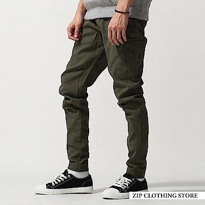 運動風束口工作褲(7色) ZIP日本男裝