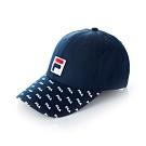 FILA 時尚LOGO帽-丈青 HTT-5006-NV