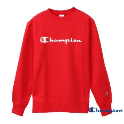 Champion Basic Logo 經典款大學Tee 紅色