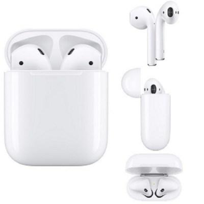 Apple原廠AirPods 無線藍牙耳機-2019新款 第2代(搭配有線充電盒)