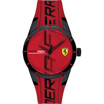 Scuderia Ferrari 法拉利 Red Red 手錶-紅/38mm