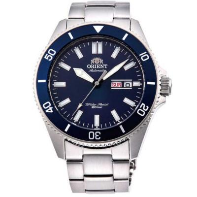 ORIENT 東方錶 深海潛龍 藍寶石鏡面 機械錶(RA-AA0009L)藍水鬼/44mm