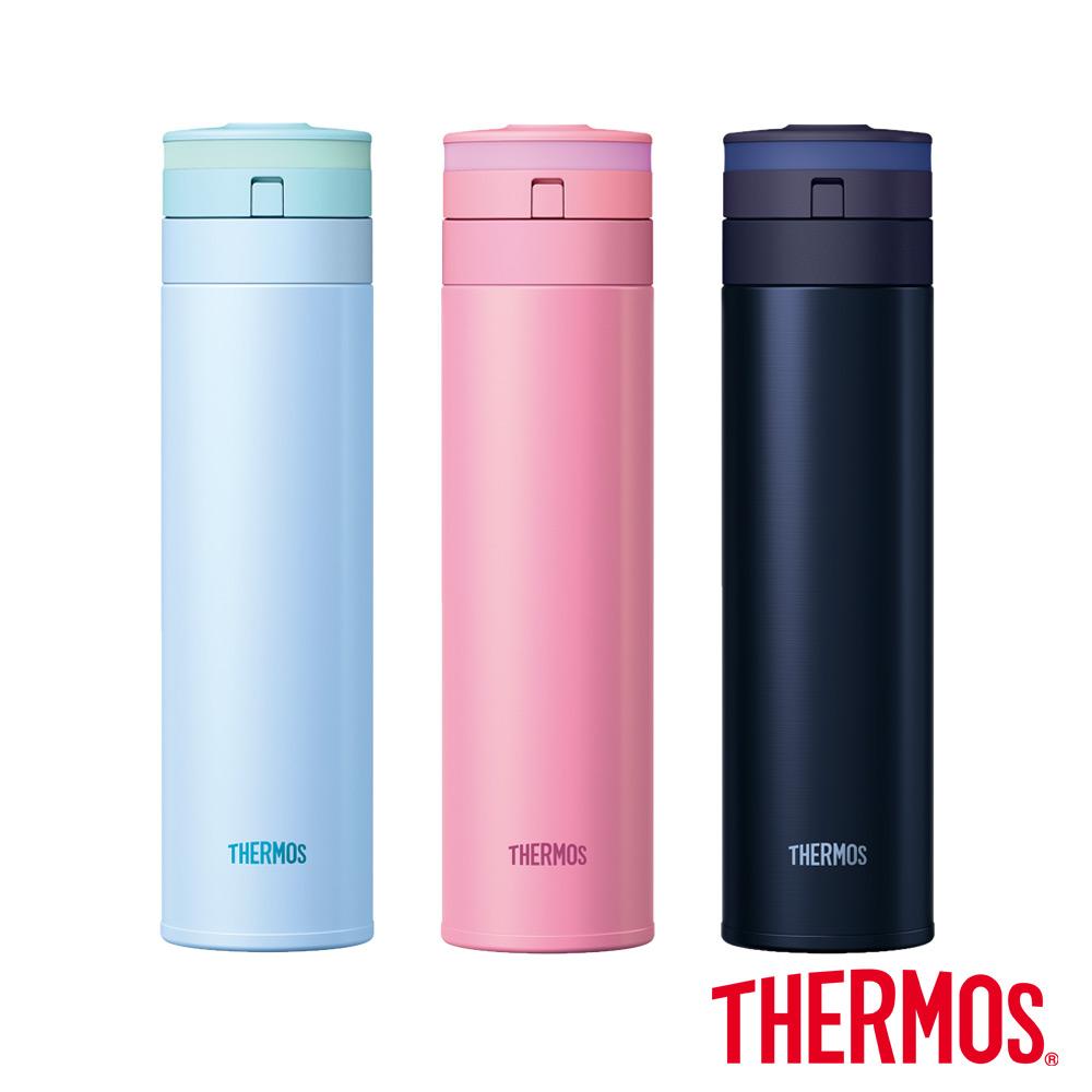 THERMOS膳魔師 超輕量 不鏽鋼真空保溫瓶0.45L(JNS-450)