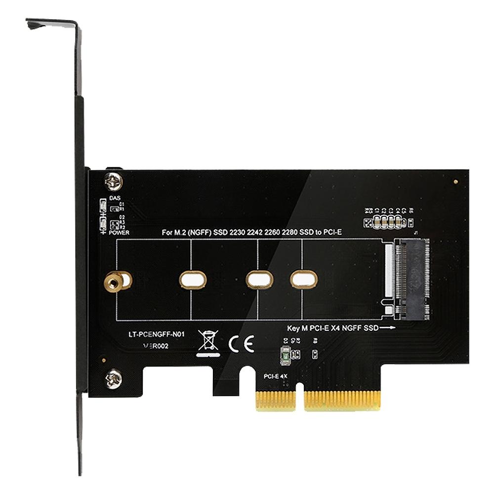 Uptech 登昌恆 M.2 轉 PCIe 4X 轉接卡
