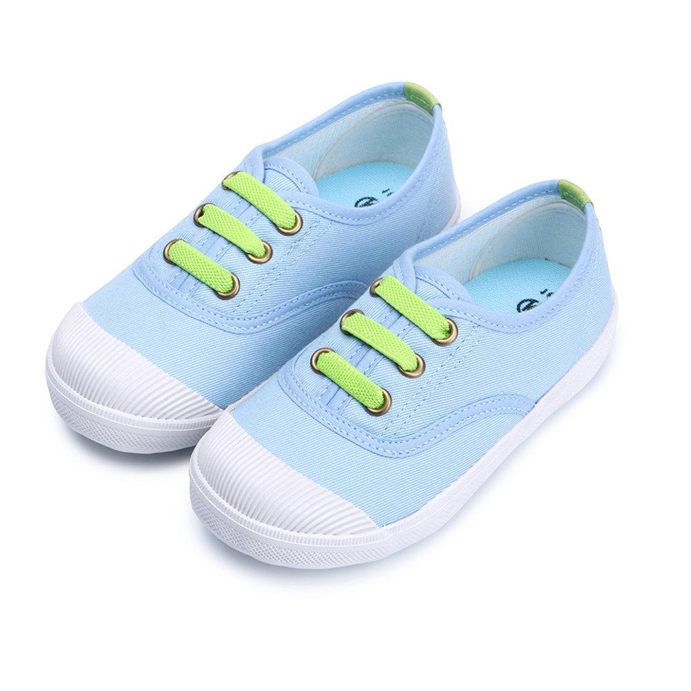 BuyGlasses 普通噗通兒童休閒鞋-水藍