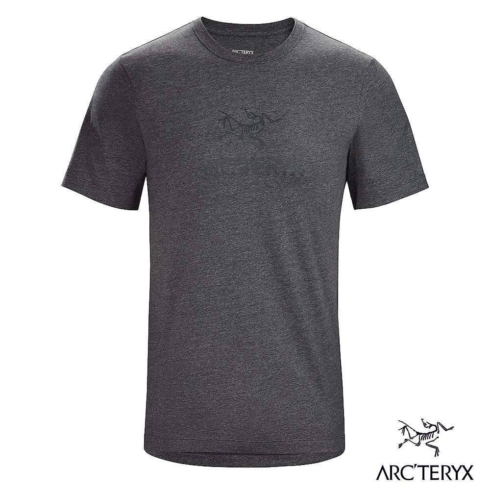 Arcteryx 始祖鳥 男 24系列 ArcWord 有機棉 短袖休閒Tee 機長雜灰