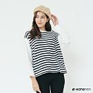 Hang Ten -女裝 - 個性撞色長袖上衣 - 條紋