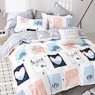 La Lune 台灣製100%40支寬幅精梳純棉枕套2入組 北歐文青