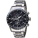 SEIKO 精工 ASTRON GPS 5X53雙時區鈦金屬腕錶(SSH003J1)-黑