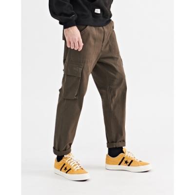 NAVY-抽繩款立體袋長褲(二色)-男【A1NA095】