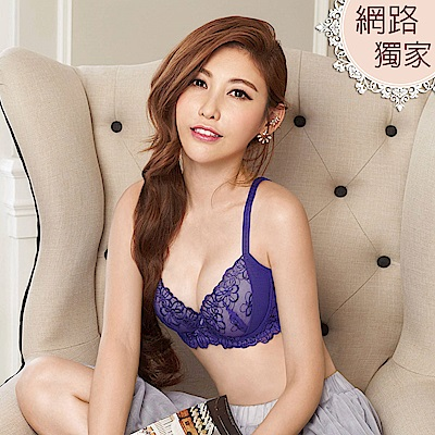 瑪登瑪朵 S-Select內衣  B-E罩杯(甜心紫)