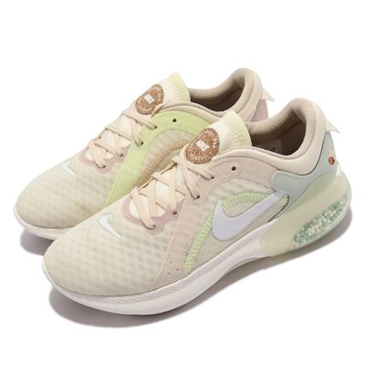 Nike 慢跑鞋 Joyride Dual Run 2 女鞋 顆粒泡棉 避震 包覆 路跑 健身 球鞋 米白 綠 DM7200-711