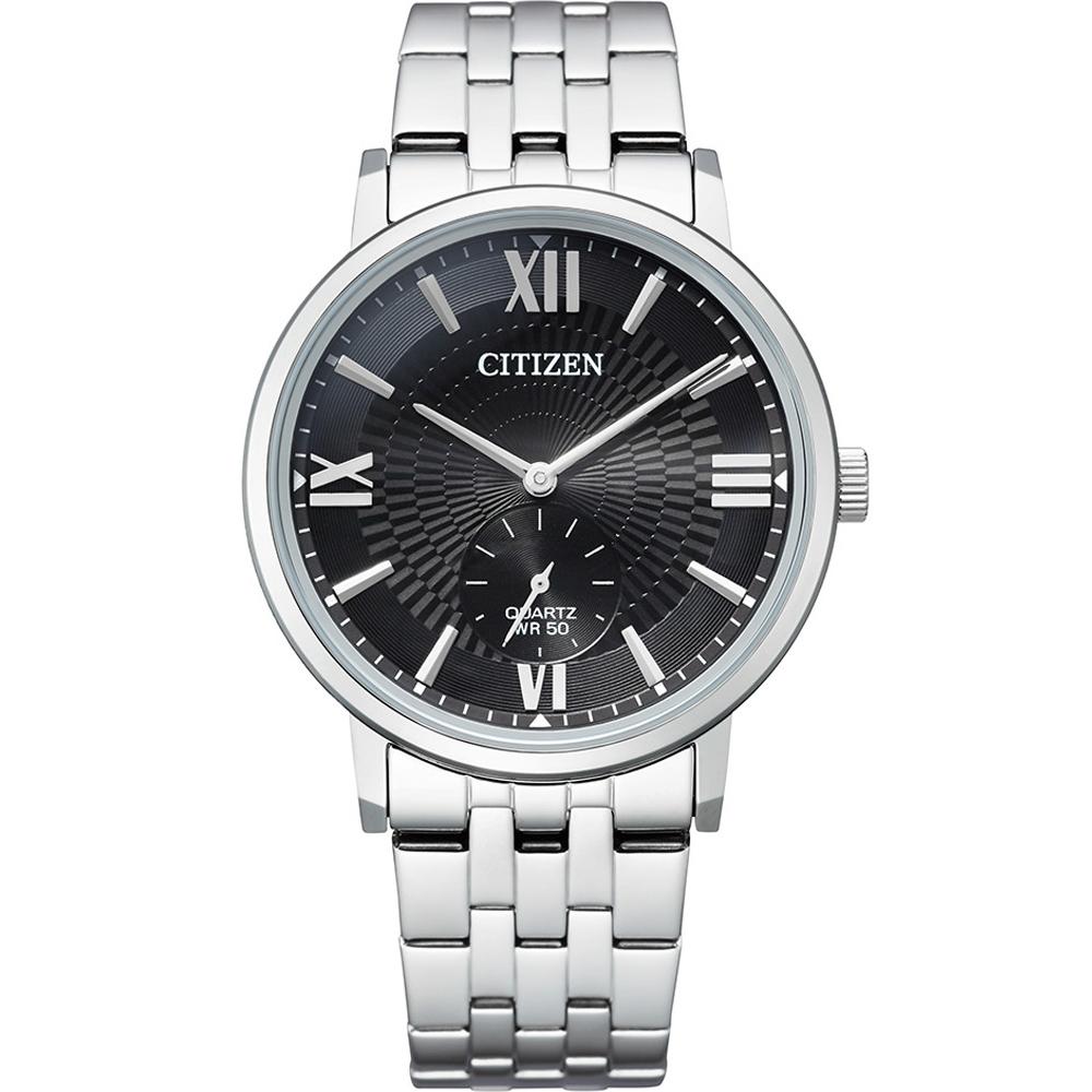 CITIZEN 星辰 GENT'S 時尚商務 紳士錶(BE9170-72E)39mm