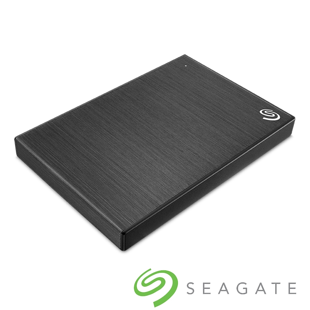Seagate Backup Plus Slim 2TB 2.5吋 外接硬碟-極夜黑