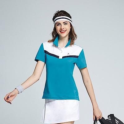 Spar彈性布女版短POLO衫S196215