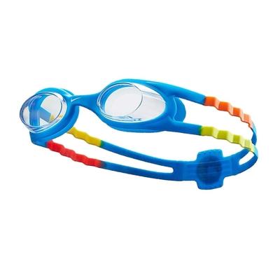 NIKE SWIM 兒童休閒泳鏡-蛙鏡 游泳 戲水 海邊 NESSB166-401 寶藍黃橘