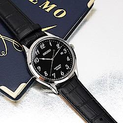 SEIKO精工 日系都會男錶(SGEH77P1/7N42-0FW0U)-黑/40mm