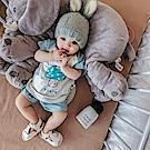 Baby unicorn 藍色蘑菇短袖套裝2件組