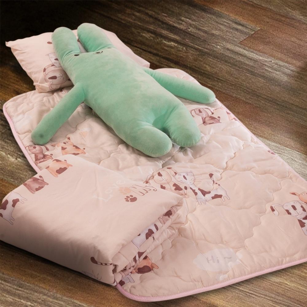 Carolan-毛小孩 3M專利+頂級天絲-兒童專用睡墊三件式
