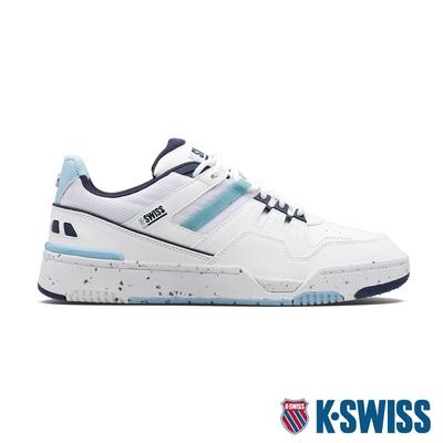 K-SWISS Match Rival CC時尚運動鞋-男-白/無憂小孩子藍