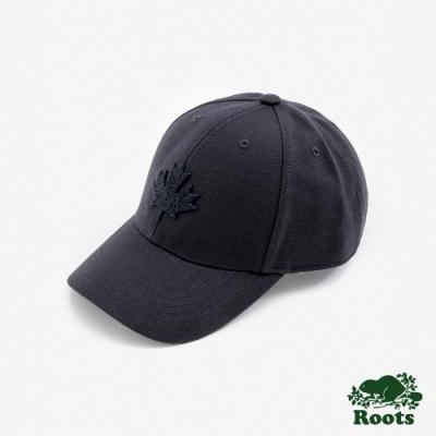 ROOTS 配件- 摩登楓葉棒球帽-藍