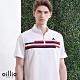 oillio歐洲貴族 短袖透氣柔軟立領T恤 舒適棉質衣料 全棉吸濕排汗 輕柔手感 白色 product thumbnail 1