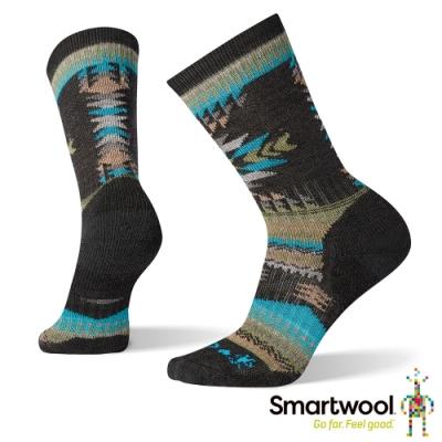 SmartWool 男 CHUP聯名系列-Prairie Lands中筒襪 炭黑色