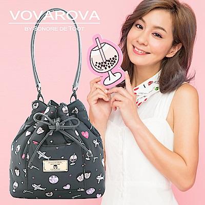 VOVAROVA x 莎莎-口袋水桶包-福爾摩莎-環遊世界系列