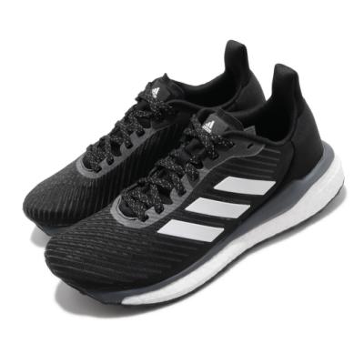 adidas 慢跑鞋 Solar Drive 19 W 女鞋 愛迪達 三線 反光 球鞋穿搭 Boost 黑 白 EH2598