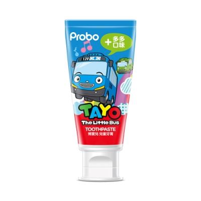 快潔適 博寶兒 TAYO兒童牙膏80g-多多口味