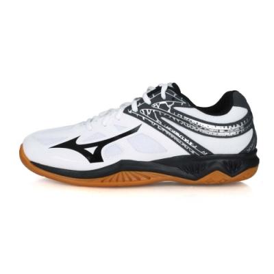MIZUNO 男 排球鞋 THUNDER BLADE 2 白黑灰銀
