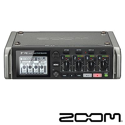 ZOOM F4 多軌錄音機-公司貨