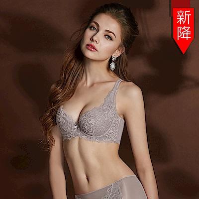 曼黛瑪璉 Hibra大波內衣  G-H罩杯(低調紫)