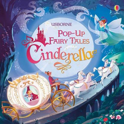Pop-Up Fairy Tales Cinderella 灰姑娘精裝立體書