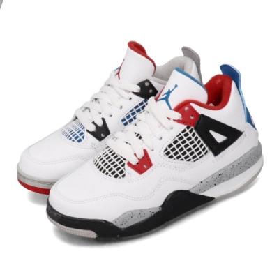 Nike 籃球鞋 Jordan 4 Retro 運動 童鞋