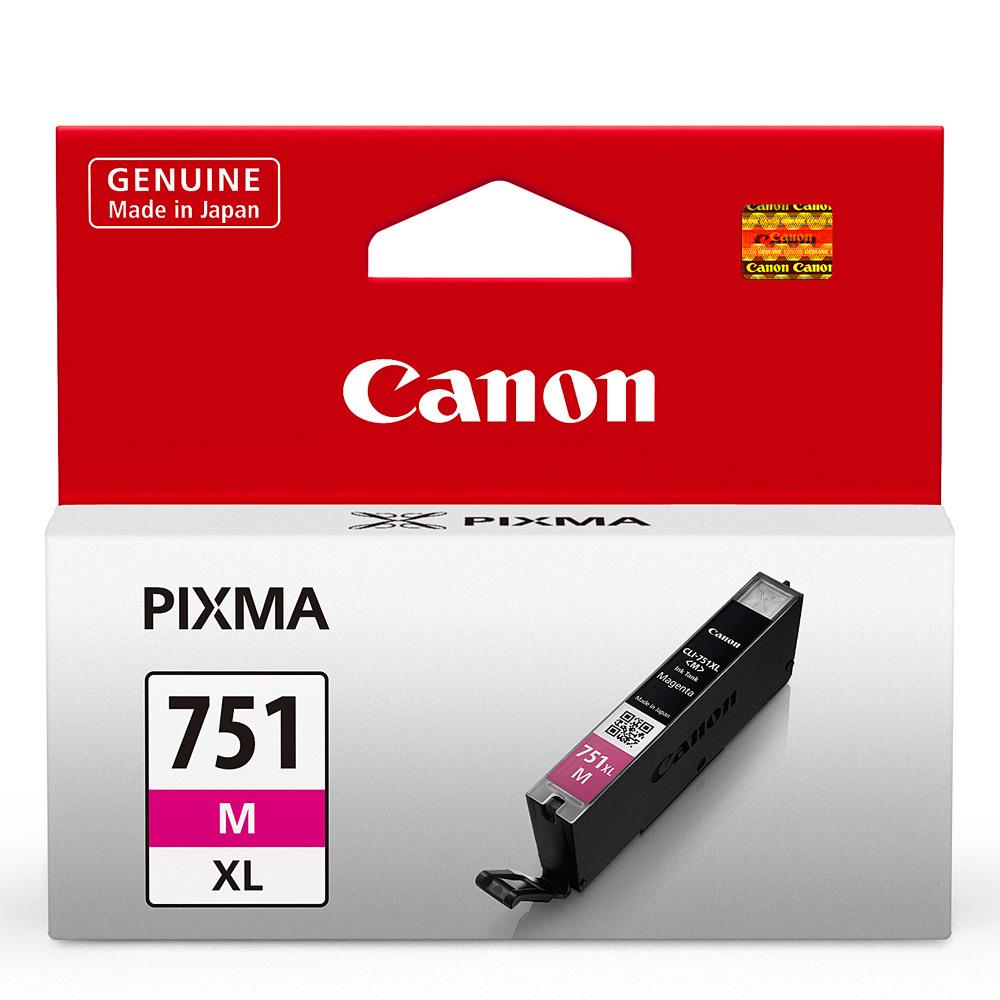 CANON CLI-751XL-M 原廠紅色高容量XL墨水匣 @ Y!購物