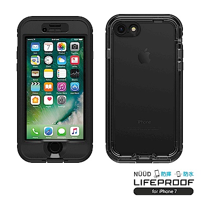 LIFEPROOF iPhone 7 專用 防水防雪防震防泥超強保護殼-簍空NUUD(黑)