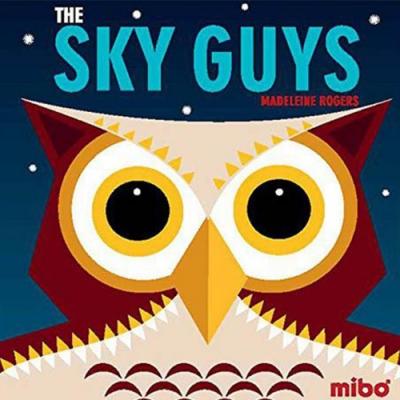 The Sky Guys 飛翔的動物 硬頁書