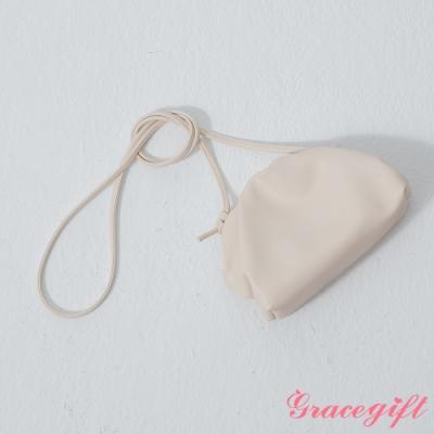 Grace gift-韓系小姐姐雲朵包 米白