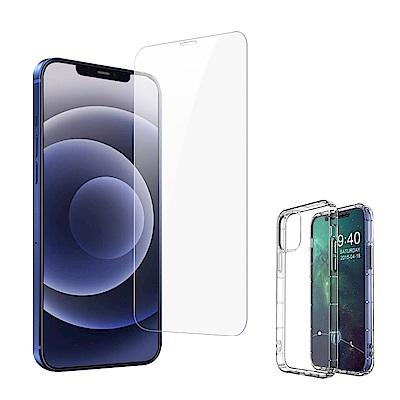 [買保護貼送手機殼] iPhone 12 非滿版 9H鋼化玻璃膜 手機 保護貼 (iPhone12保護貼 iPhone12鋼化膜 鋼化膜 )