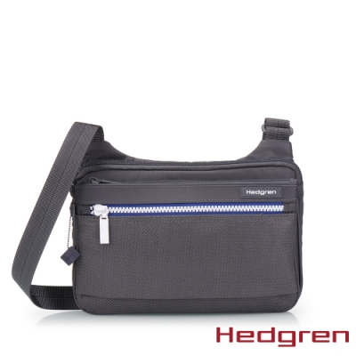 【Hedgren】INNER CITY貼身收納 側背包-藍白灰