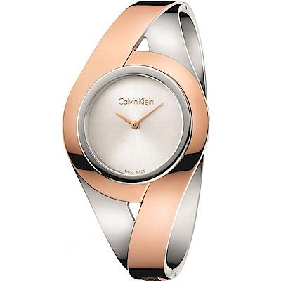 Calvin Klein 性感手環錶(K8E2S1Z6)雙色