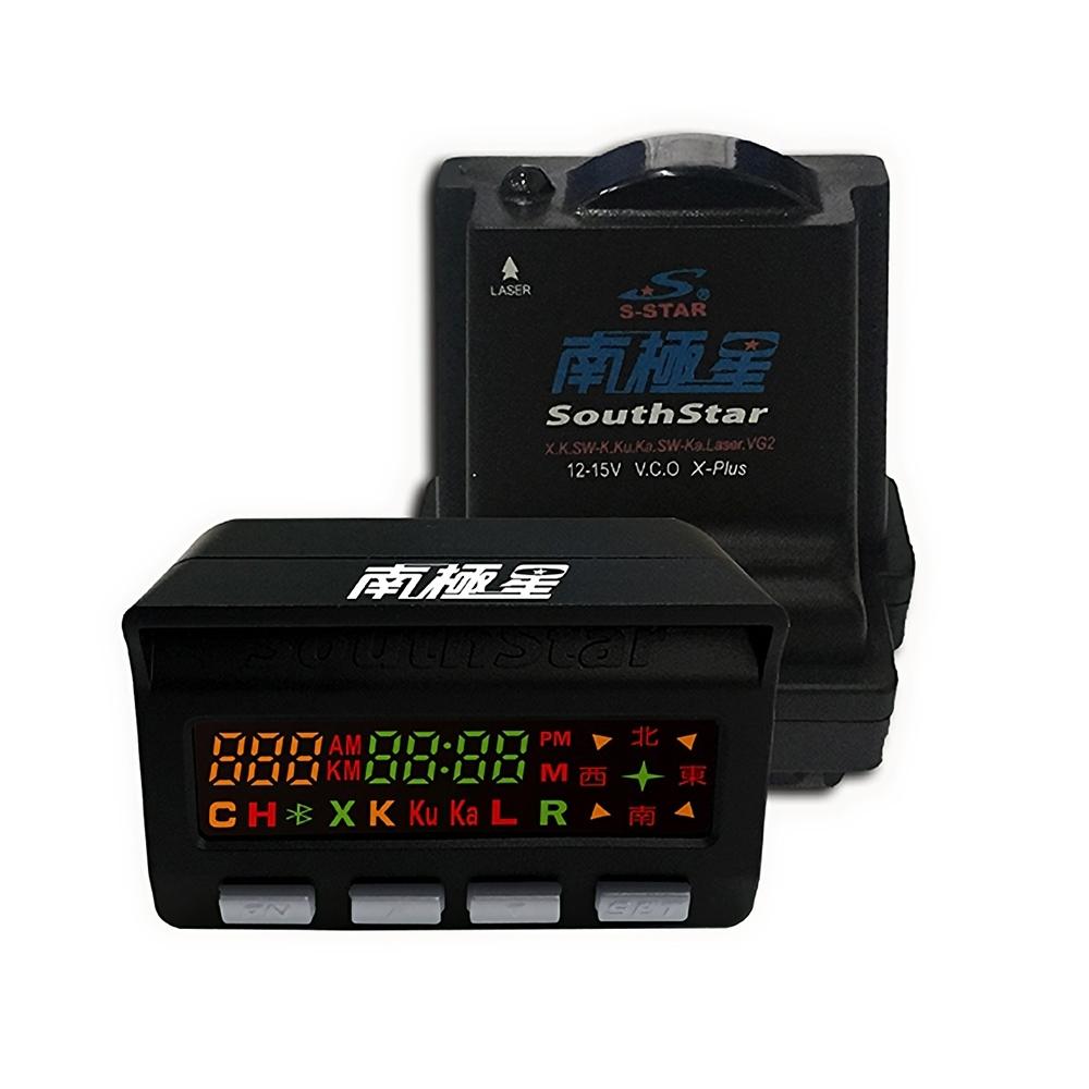 南極星 GPS-858+雷達 彩屏雙顯示 分體測速器-快